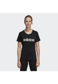 adidas Performance - Design 2 Move Logo Tee - Camiseta estampada - black - 2