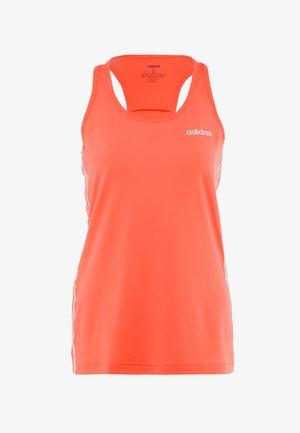 TANK - Sports shirt - semi coral/white