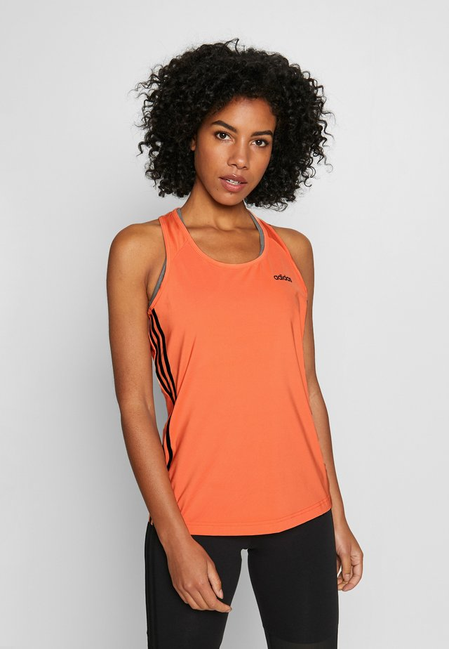 TANK - Camiseta de deporte - orange/black