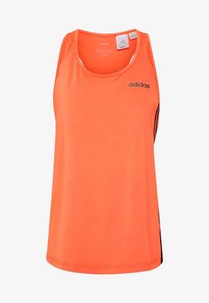TANK - Tekninen urheilupaita - orange/black
