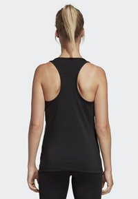 adidas Performance - TANK - T-shirt de sport - black - 1