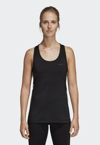 adidas Performance - TANK - T-shirt de sport - black - 0