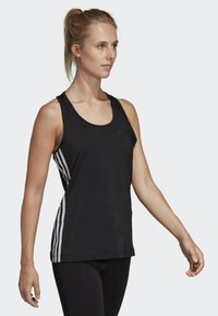 adidas Performance - TANK - T-shirt de sport - black - 3