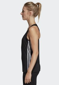 adidas Performance - TANK - T-shirt de sport - black