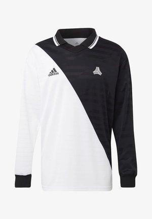 TAN ADVANCE JERSEY - Polo - black/white