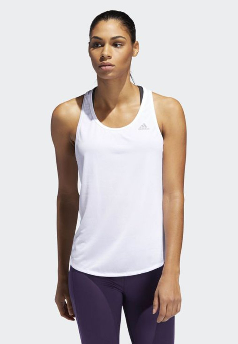 adidas Performance - RUN-IT TANK TOP - Top - white