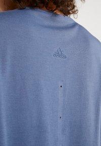 adidas Performance - ADAPT TANK  - T-shirt de sport - tech ink - 3