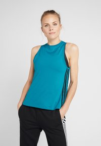 adidas Performance - LOOSE TANK - Funkční triko - active teal - 0