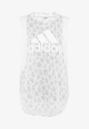 GRAPHIC TEE - T-shirt sportiva - white