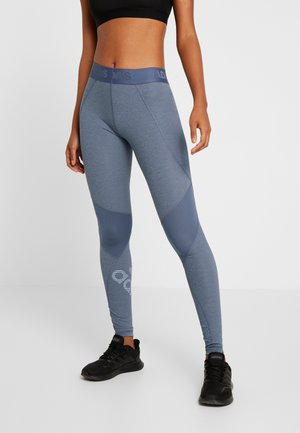 ASK  - Tights - tech ink/heather/glow blue