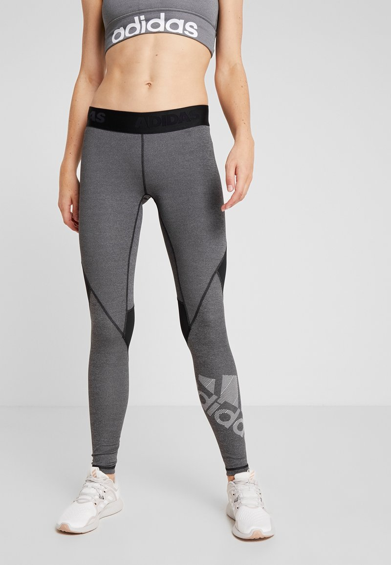 adidas Performance - ASK  - Leggings - black/heather