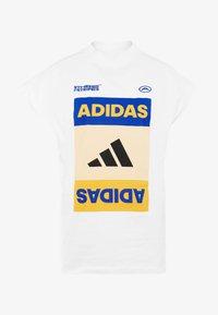 adidas Performance - GRAPH TEE - Print T-shirt - white - 3