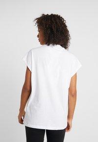adidas Performance - GRAPH TEE - Print T-shirt - white - 2