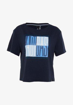 GLOBAL TEE - T-shirts med print - legend ink