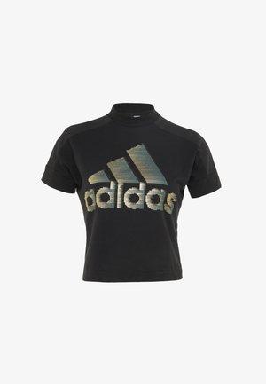 GLAM TEE - T-shirts med print - black