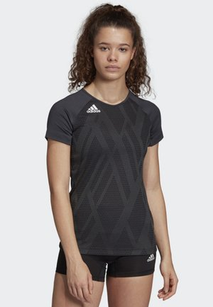 QUICKSET JERSEY - T-Shirt print - black