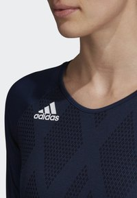 adidas Performance - QUICKSET JERSEY - Sports shirt - blue - 3