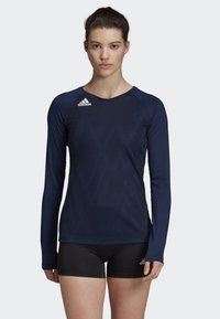 adidas Performance - QUICKSET JERSEY - Sports shirt - blue - 0