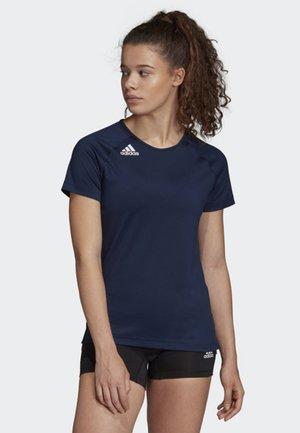 HI LO JERSEY - Print T-shirt - blue