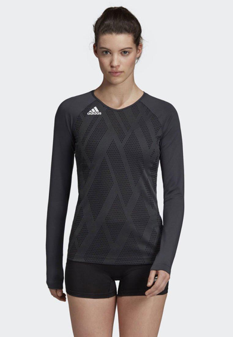 adidas Performance - QUICKSET JERSEY - Sports shirt - black