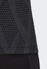 adidas Performance - QUICKSET JERSEY - Sports shirt - black - 4