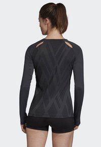 adidas Performance - QUICKSET JERSEY - Sports shirt - black - 1