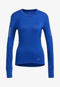 adidas Performance - RISE UP N RUN LONG-SLEEVE TOP - T-shirt de sport - blue - 3