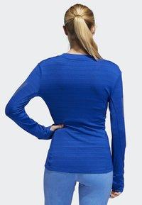 adidas Performance - RISE UP N RUN LONG-SLEEVE TOP - T-shirt de sport - blue - 1