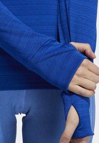 adidas Performance - RISE UP N RUN LONG-SLEEVE TOP - T-shirt de sport - blue - 2