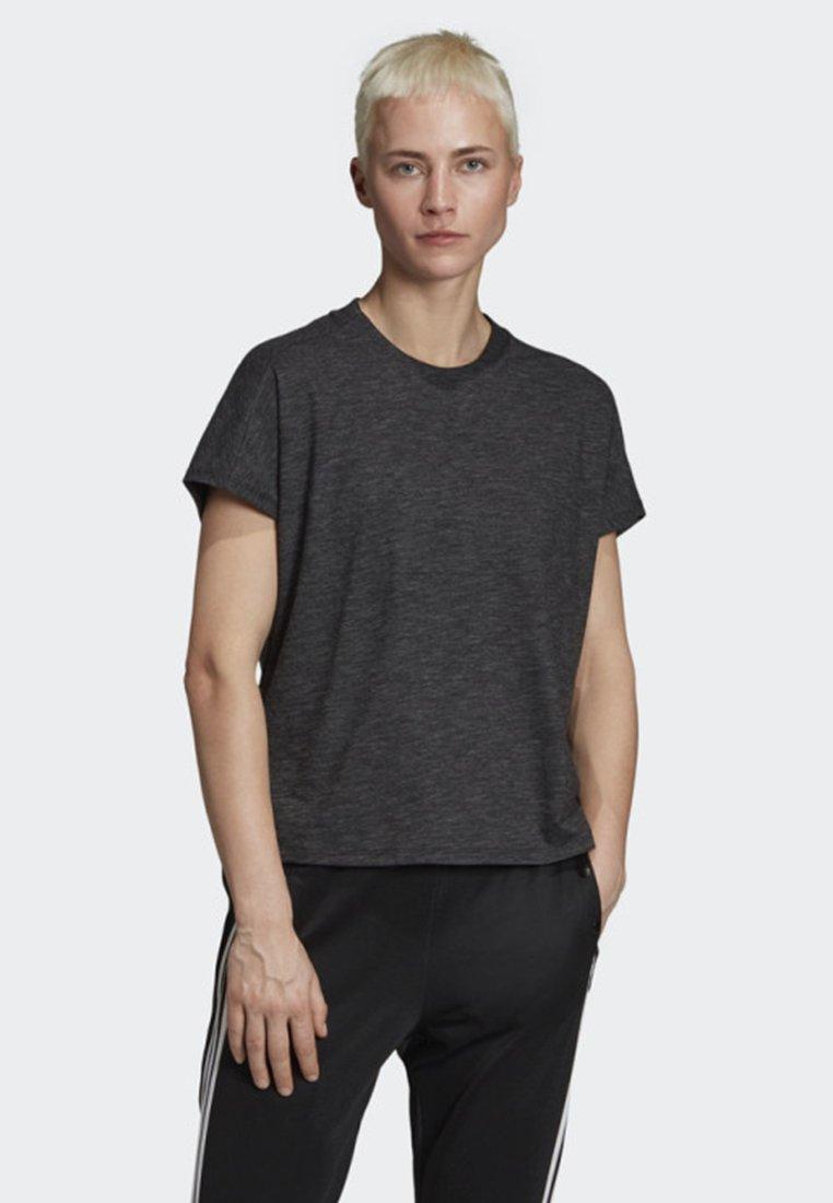 adidas Performance - ID WINNERS ATT-SHIRTTUDE T-SHIRT - Print T-shirt - black