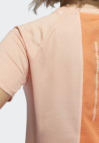 adidas Performance - 25/7 RISE UP N RUN PARLEY T-SHIRT - Sports shirt - pink - 3