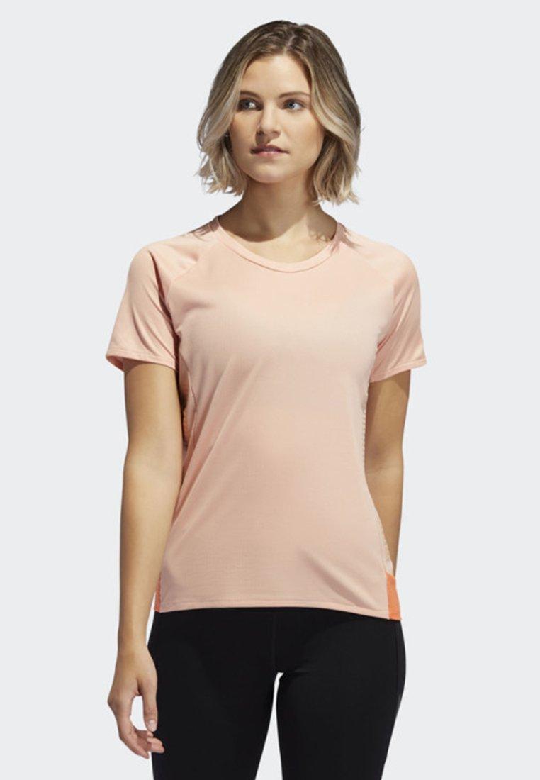 adidas Performance - 25/7 RISE UP N RUN PARLEY T-SHIRT - Sports shirt - pink