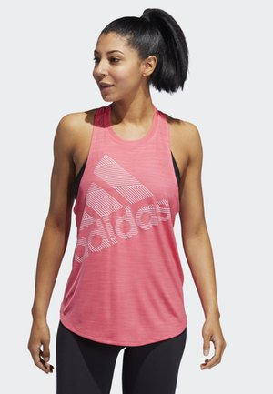 BADGE - T-shirt sportiva - pink