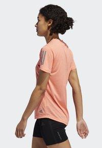 adidas Performance - OWN THE RUN T-SHIRT - Sports shirt - pink - 2