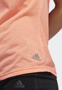 adidas Performance - OWN THE RUN T-SHIRT - Sports shirt - pink - 4