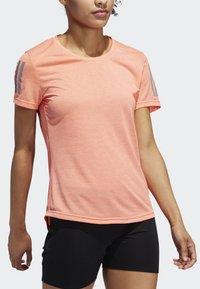 adidas Performance - OWN THE RUN T-SHIRT - Sports shirt - pink - 3