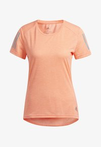 adidas Performance - OWN THE RUN T-SHIRT - Sports shirt - pink - 5