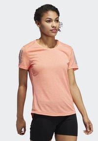 adidas Performance - OWN THE RUN T-SHIRT - Sports shirt - pink - 0