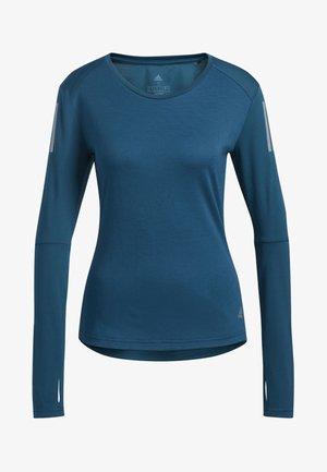 OWN THE RUN LONG-SLEEVE TOP - Sportshirt - blue