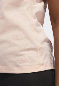 adidas Performance - RUN IT T-SHIRT - Sports shirt - pink - 3
