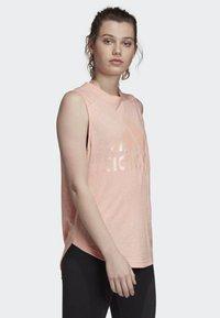 adidas Performance - ID WINNERS MUSCLE TANK TOP - Sports shirt - pink - 2