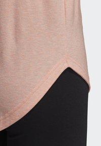adidas Performance - ID WINNERS MUSCLE TANK TOP - Sports shirt - pink - 6