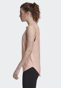 adidas Performance - ID WINNERS MUSCLE TANK TOP - Sports shirt - pink - 3