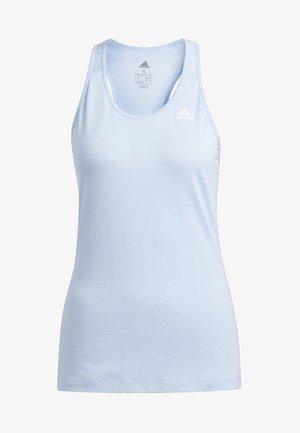 PRIME 3-STRIPES TANK TOP - Sports shirt - blue