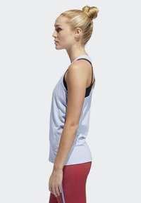 adidas Performance - PRIME 3-STRIPES TANK TOP - Treningsskjorter - blue - 2
