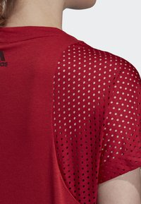 adidas Performance - ID MESH T-SHIRT - T-shirt print - red
