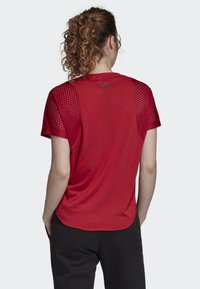adidas Performance - ID MESH T-SHIRT - T-shirt print - red - 1