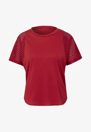 ID MESH T-SHIRT - T-shirt print - red