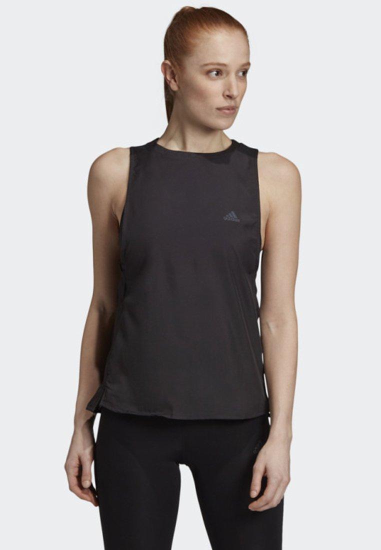adidas Performance - 25/7 TANK TOP - Sportshirt - black