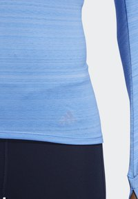adidas Performance - RISE UP N RUN LONG-SLEEVE TOP - Funktionströja - blue - 4
